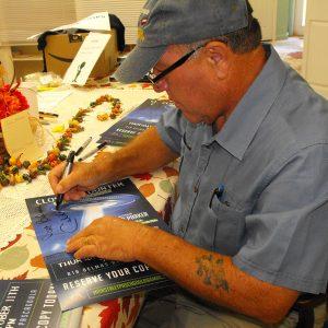 Calvin Parker dédicace son livre en 2018