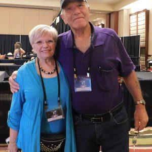 Calvin Parker et Kathleen Marden à l'International UFO Congress, Phoenix, Arizona, Septembre 2019